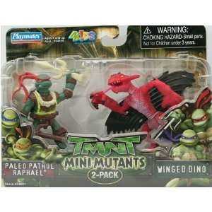 Teenage Mutant Ninja Turtles Mini Mutants 2 Pack   Paleo