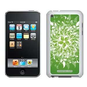 Leafy Bliss Green on iPod Touch 4G XGear Shell Case