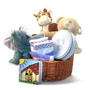 Noahs Ark Animals Baby Gift Basket Toys & Games