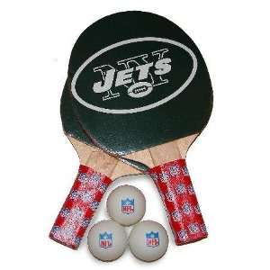 New York Jets NFL Table Tennis/Ping Pong Paddles