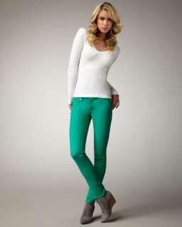 Boot Cut Cotton Spandex Jeans  Neiman Marcus