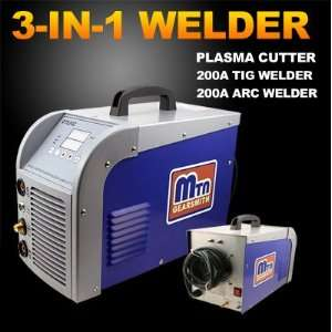Brand New Industrial Grade 3 in 1 DIGITAL Inverter TIG/MMA Welder, AIR