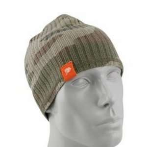 (Camo) Knit Beanie Hat Ski Cap Licensed by Reebok