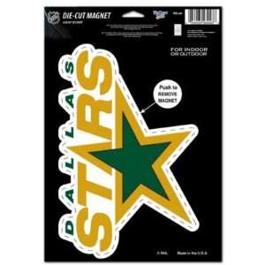 DALLAS STARS OFFICIAL LOGO 6x9 MAGNET Sports & Outdoors