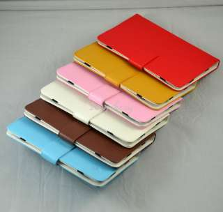 Folio Leather Case Cover For Toshiba Thrive 7 Tablet /Viewsonic