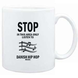 Mug White  STOP   In this area only listen to Danish Hip Hop