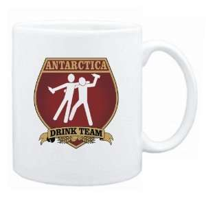 Antarctica Drink Team Sign   Drunks Shield  Mug Country Home