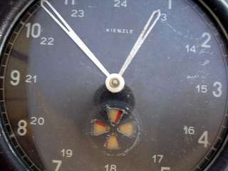 ANTIQUE MILITARY ORIGINAL TACHOGRAPH CLOCK KIENZLE GERMAN ARMY
