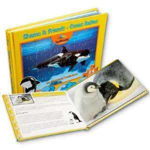 Ocean Babies Puzzle Book Toys & Games