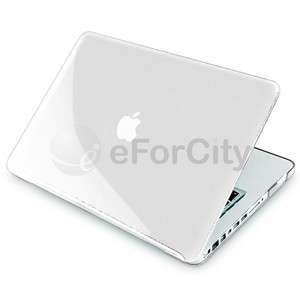 Clear Crystal Hard Case Cover for Apple Macbook Pro 13 13.3