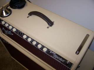 TONE MASTER CUSTOM SHOP GUITAR AMP 100 WATT HEAD AND 2X12 CABINET MINT
