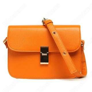 Fashion Rectangular Crossbody Messenger Satchel Shoulder Bag Handbag
