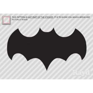 (2x) Batman TV Show Logo   Sticker   Decal   Die Cut