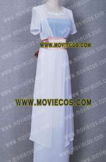 Titanic Rose White Dress Costume * Taillor Made High Quality Free