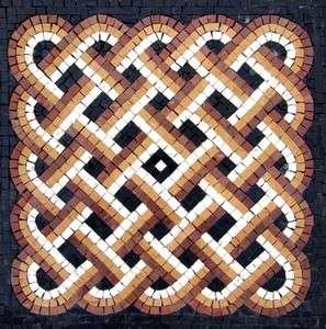 Mosaic Marble Tiles Stone Floor Wall Mural Art