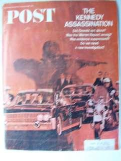 JANUARY 14 1967 POST MAGAZINE; KENNEDY ASSASSINATION