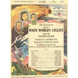 When Worlds Collide Poster Movie E (11 x 17 Inches   28cm x 44cm