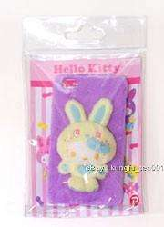 Sanrio Hello Kitty 3D Fluffy Bunny Rabbit iPhone 4 Case Cover Fu Wa