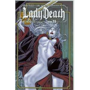 Lady Death Ongoing #15 Sultry Cover: Brian Pulido: Books