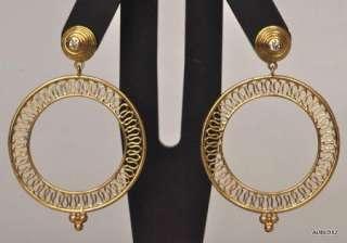 2,100 TEMPLE ST CLAIR 18K Gold Diamond Dangle Earrings on SALE
