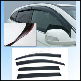 02 08 Dodge Ram Quad Cab window vent visor deflector