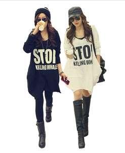 2011 Korean Fashion Hot Autumn Winter Cape Long Sleeve Big Size Tops