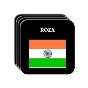 India   ROZA Set of 4 Mini Mousepad Coasters: Everything