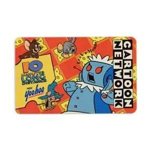 Collectible Phone Card 10m Yoo Hoo & Cartoon Network Rosie Robot