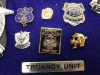 Obsolete Hartford Police Badge, Pin & Patch Set Connecticut