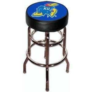 University of Kansas Jayhawks Double Rung Bar Stool