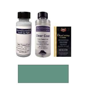 2 Oz. Blue Green Metallic Paint Bottle Kit for 1990 Volvo