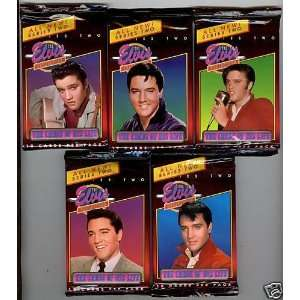 ELVIS PRESLEY  SERIES 2 COLLECTIBLE CARDS OF HIS LIFE
