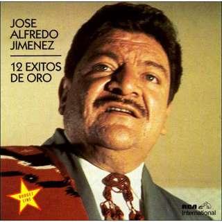 12 Exitos De Oro, Jose Alfredo Jimenez Latin