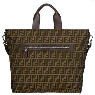 Fendi Zucca Canvas Shopper Bag