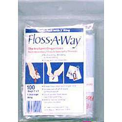 Action Bag Floss A Way 3x5 inch Organizer (Pack of 100)