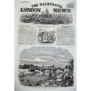1860 Stephenson Institute Newcastle Bridge Seine Paris