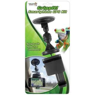 GrippIt Smartphone GPS Windshield Mount Kit