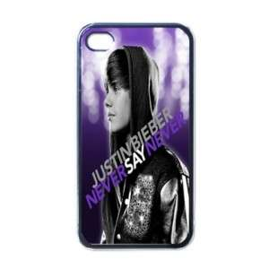 Apple iPhone 4 Case Cover Justin Bieber Never Say Never