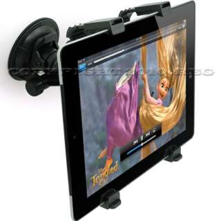 HOLDER MOUNT STAND KIT WINDSHIELD FOR APPLE NEW IPAD 3 3RD G