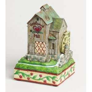 Jim Shore   Heartwood Creek   Mill by Enesco   0000310