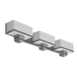 Lighting, Inc. Sheridan Three Light Bath Vanity in Satin Nickel Decor