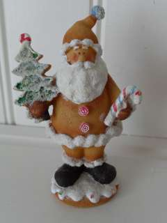 CHRISTMAS GINGERBREAD SANTA CLAUS FATHER CHRISTMAS DECORATION