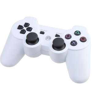 White Wireless Bluetooth Controller for Sony PS3 Video