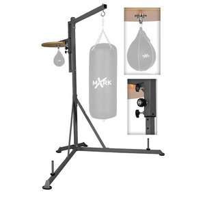 Heavy Bag Stand with Adjustable Speed Bag Platform Exercise & Fitness