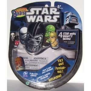 Mighty Beanz Star Wars 4 Pack with Admiral Ackbar Toys & Games