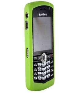 Blackberry Pearl 8100 Lime Green Flexi Skin Case