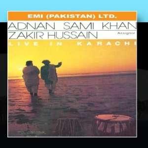 Hussain Live In Karachi: Adnan Sami Khan   Zakir Hussain: Music