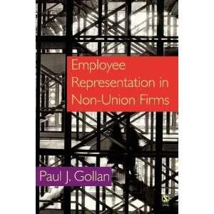 Employee Representation in Non union Firms (9781412903462