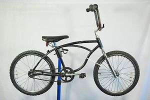 Schwinn Stingray Deluxe BMX conversion bicycle bike black was blue