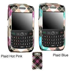 Blackberry Curve 8900 Plaid Protector Case